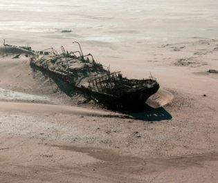 Getty Skeleton Coast shipwreck