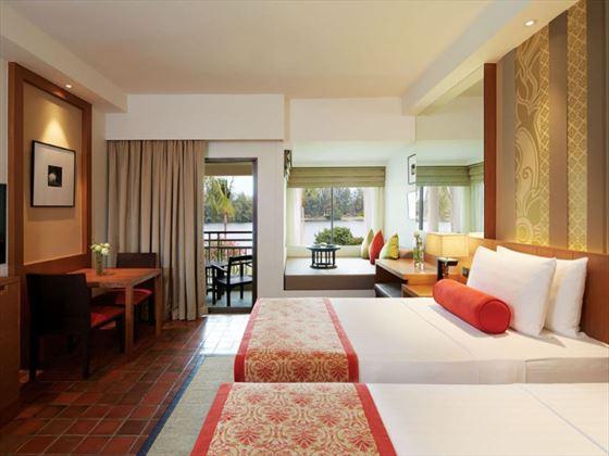 Deluxe Lagoon Room at Outrigger Laguna Phuket Beach Resort