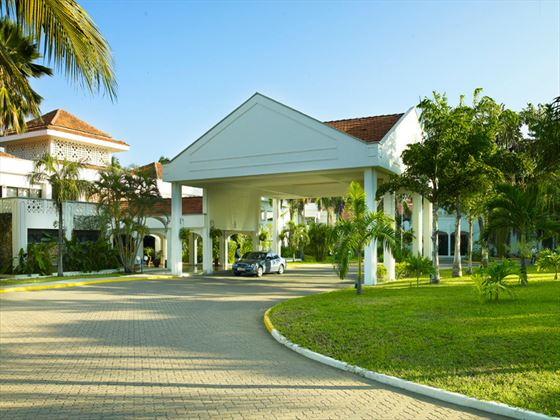 Exterior view of Sarova Whitesands