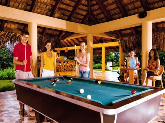 Let older children have fun at the all-inclusive Teens Club at Dreams Punta Cana