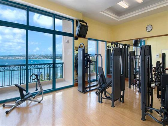 Hilton Barbados Resort fitness room