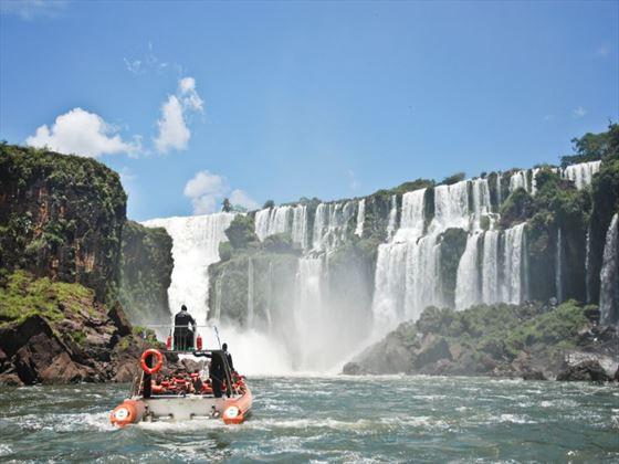 Boat trip to Iguassu Falls