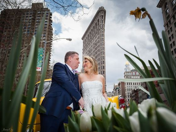 Quintessential New York wedding