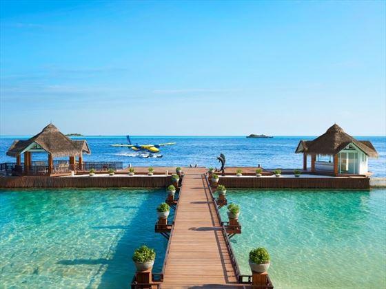 Jetty to Ellaidhoo Maldives by Cinnamon