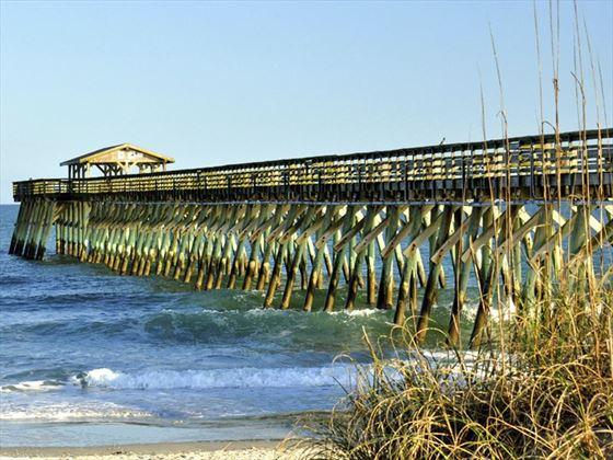 Myrtle Beach fishing pier