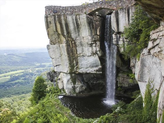Rock City waterfall, Chattanooga