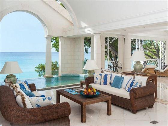 Sandy Lane private veranda