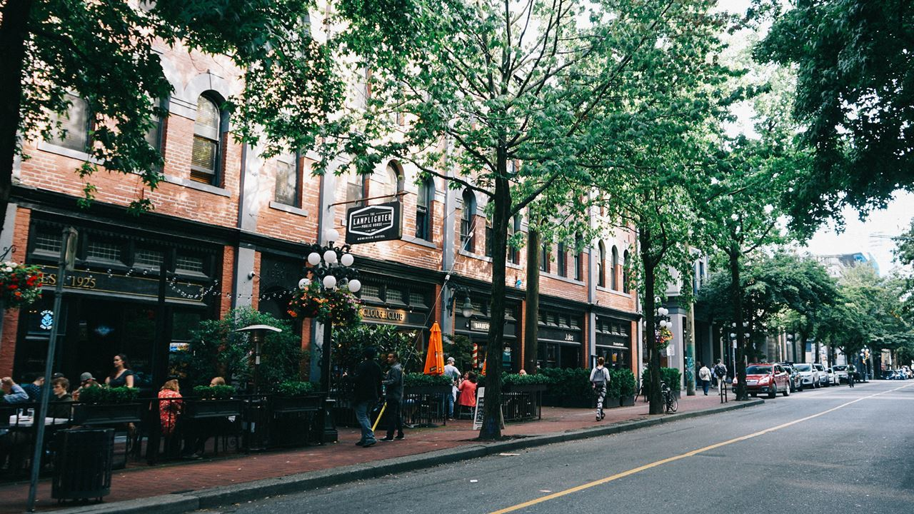 Exploring Gastown, Vancouver