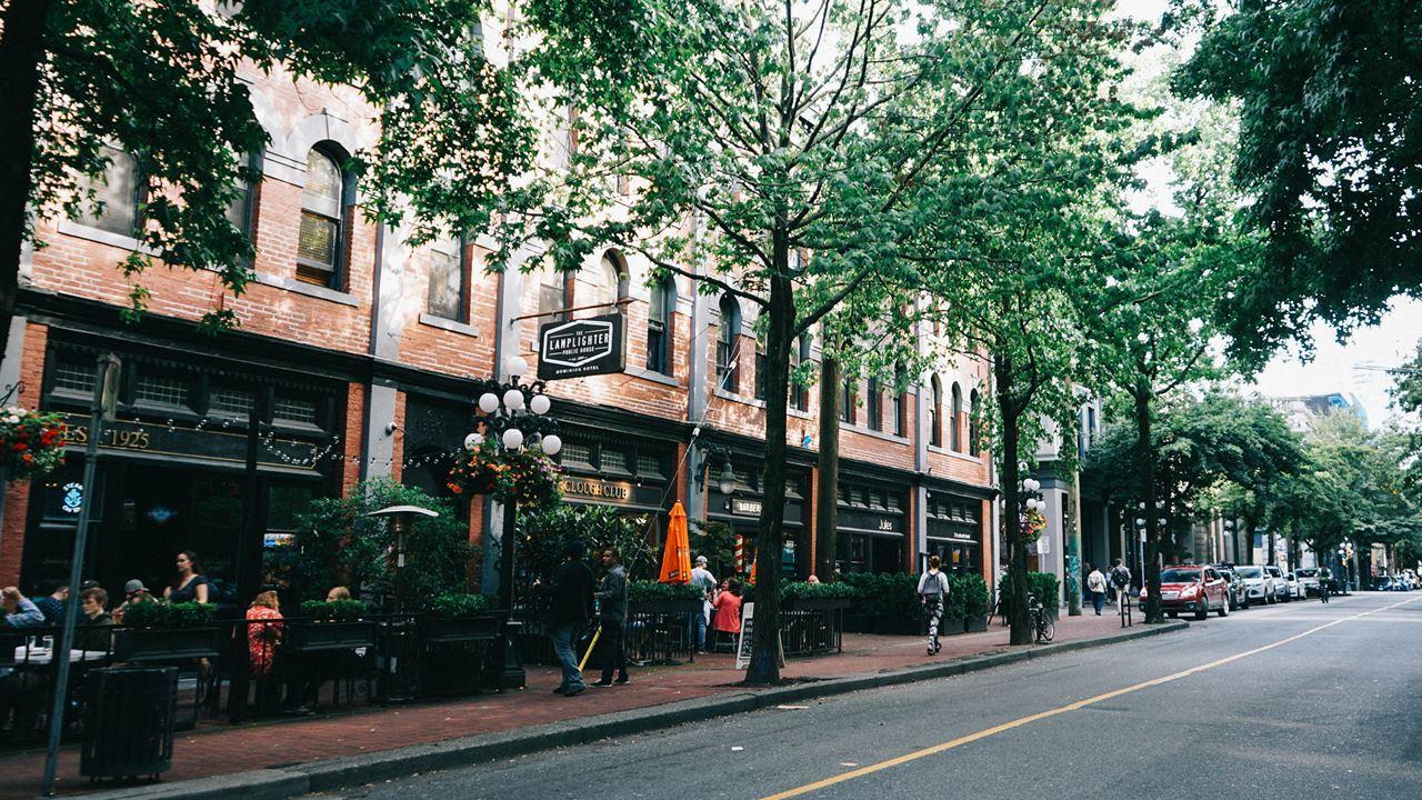 Exploring Gastown, Vancouver