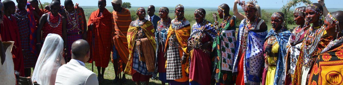 Africa wedding