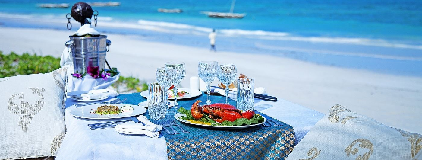 Afro Chic beachside lunch