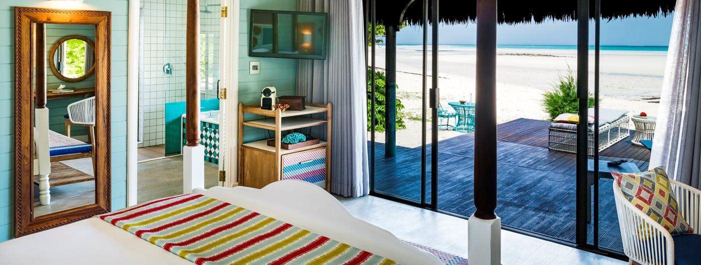 Anantara Medjumbe Island Resort & Spa villa interior