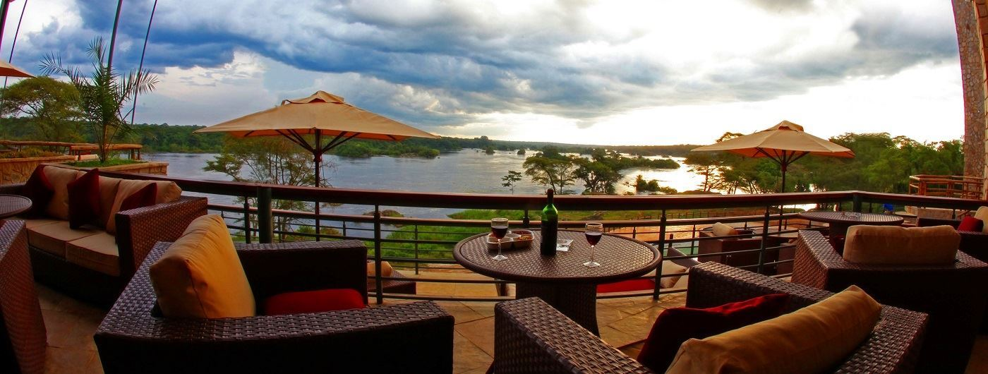 Chobe Safari Lodge private terrace