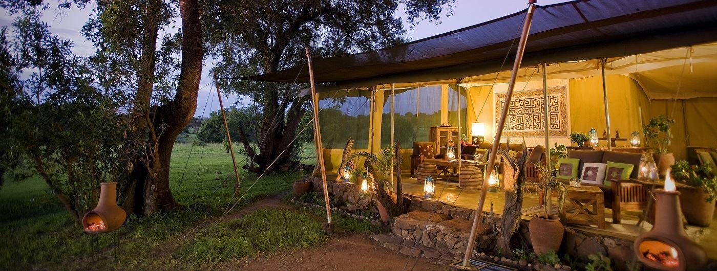 Kicheche Mara Camp mess tent