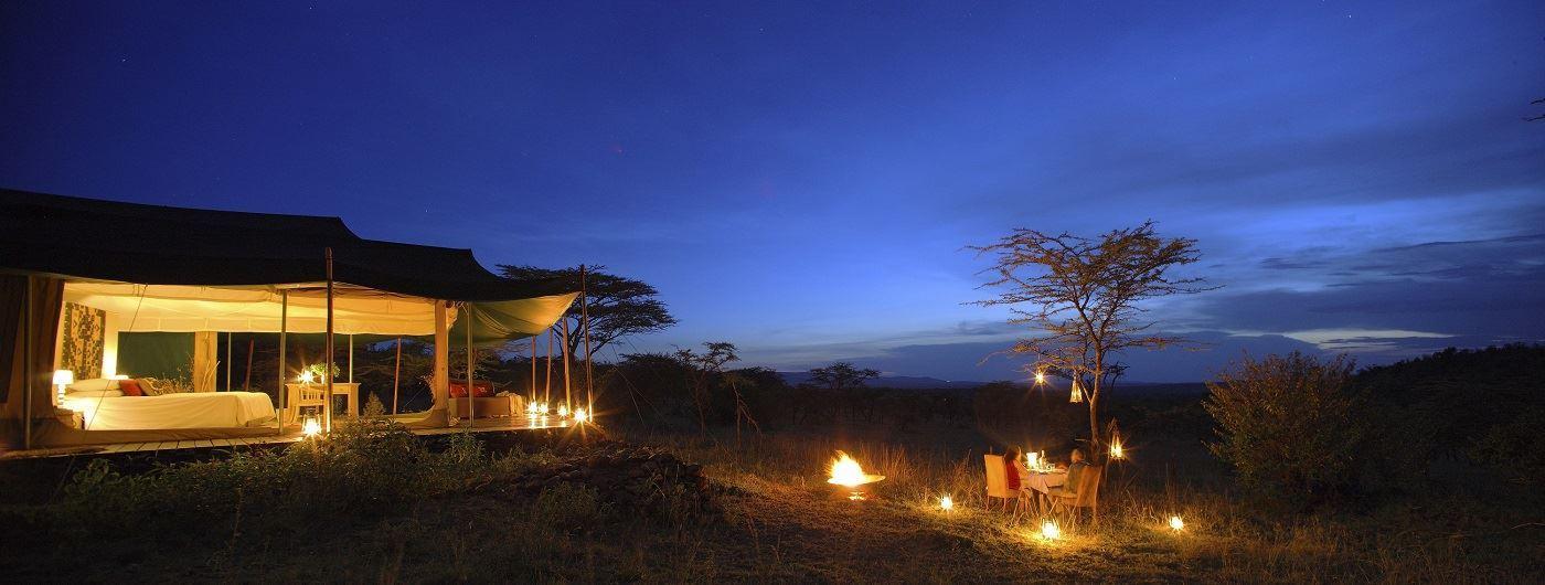 Kicheche Valley guest tent