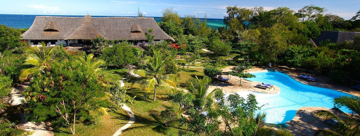 Kinondo Kwetu aerial view