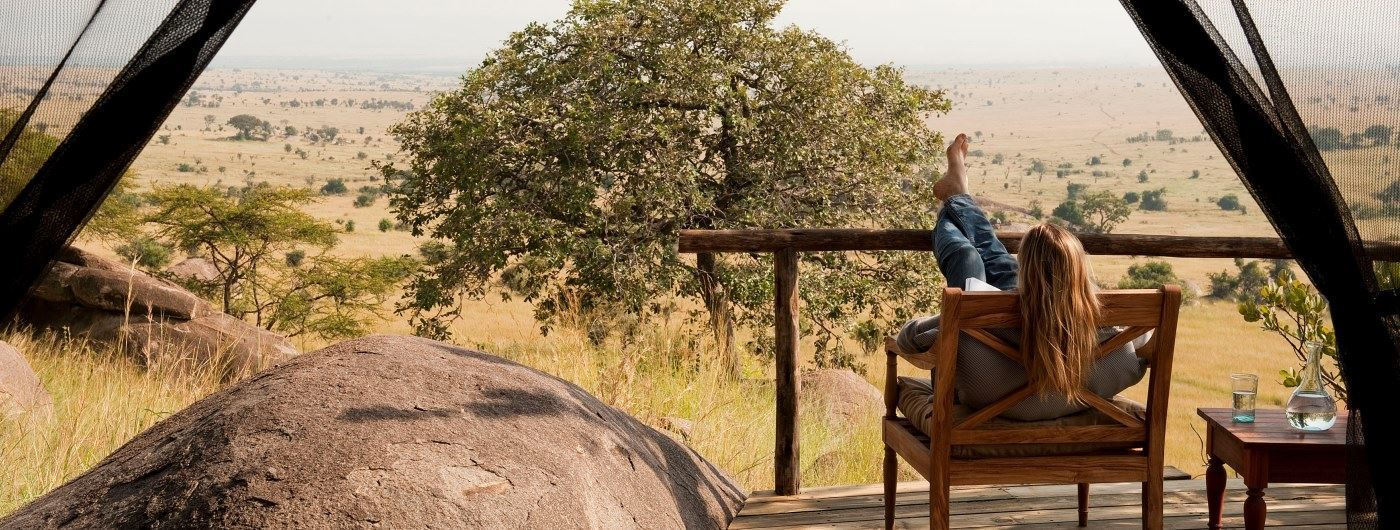 Lamai Serengeti private veranda