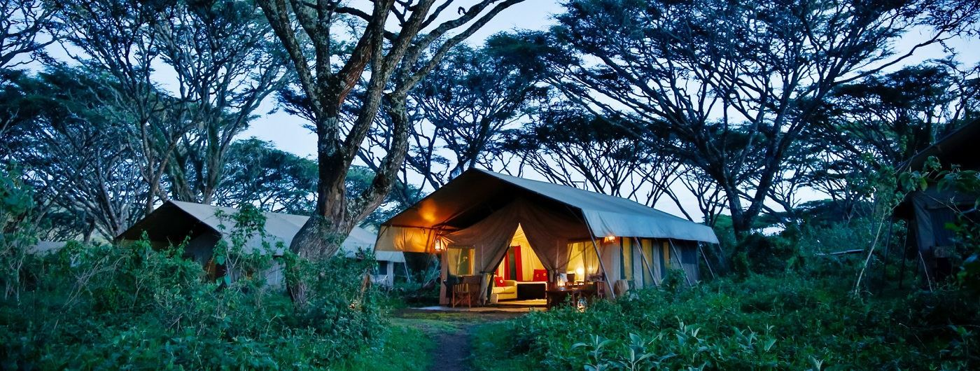 Lemala Ngorongoro Tented Camp guest tent exterior