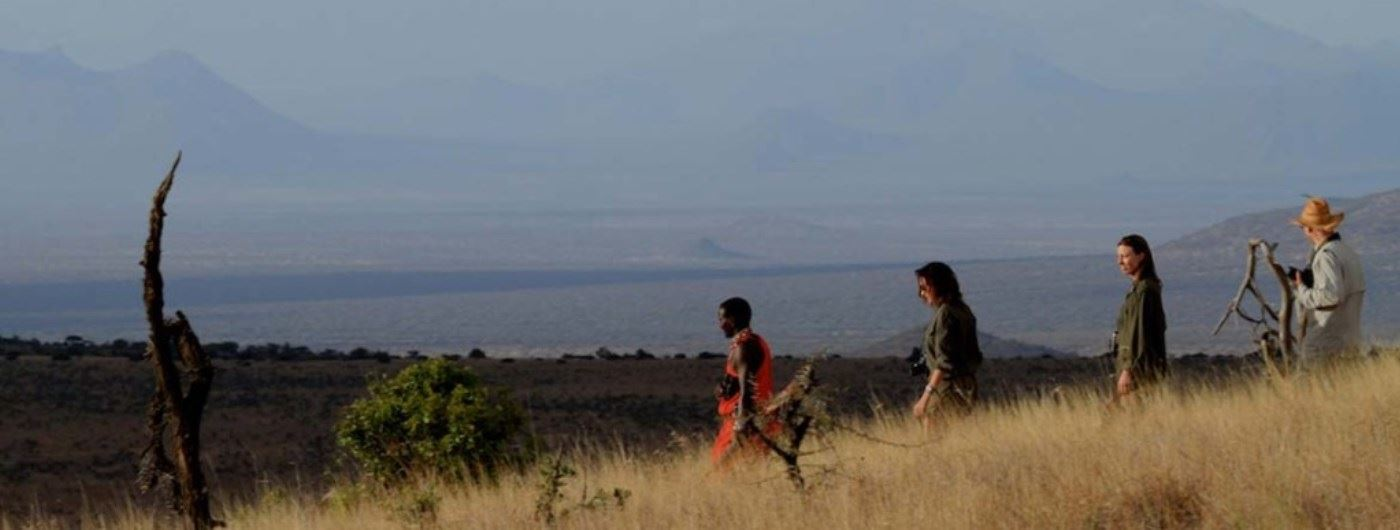 Lewa Wilderness walking safari