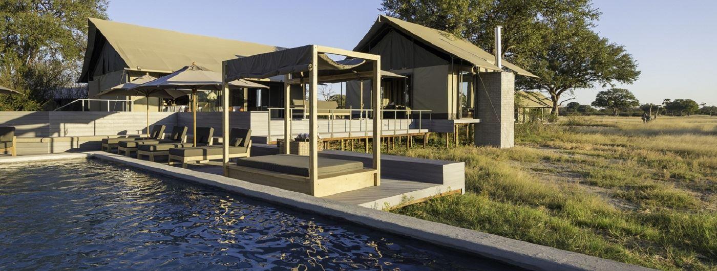 Linkwasha Camp pool area