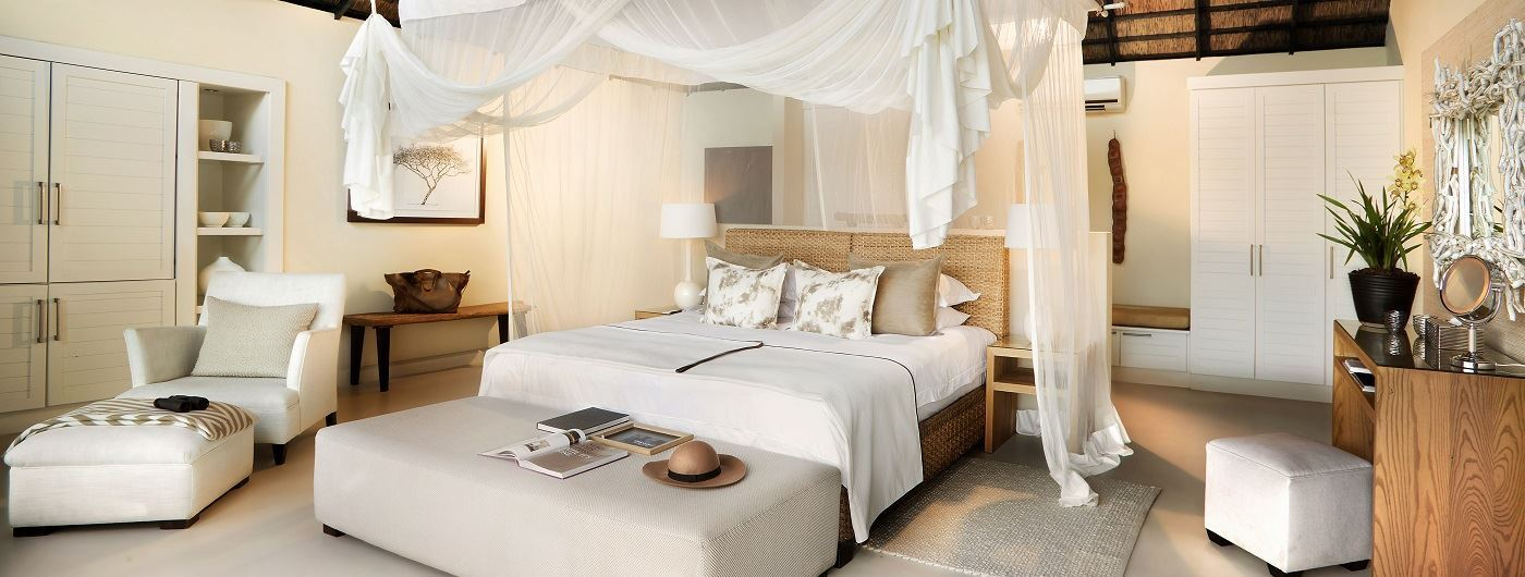 Lion Sands River Lodge suite interior
