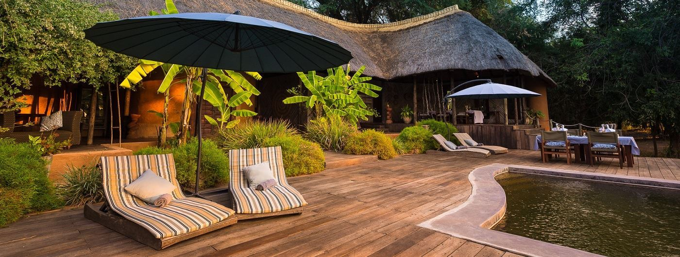 Luangwa River Camp main decking