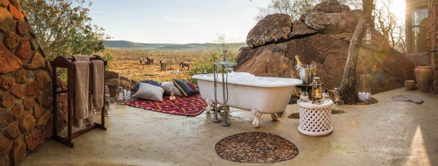 Luxury Suite outdoor bath