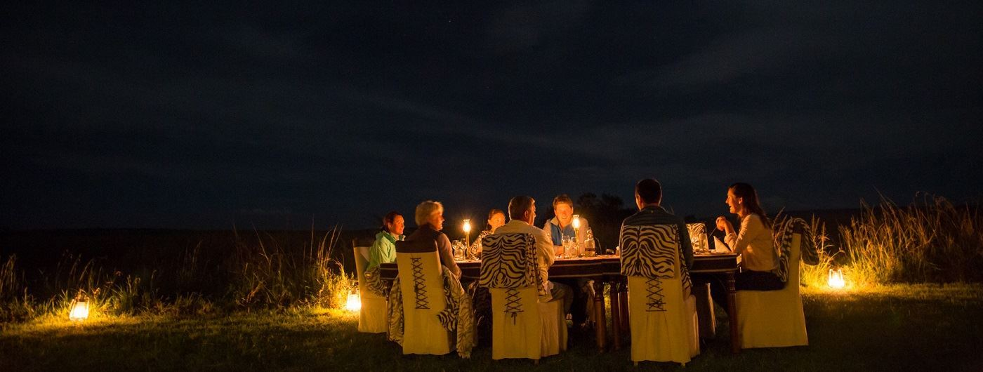 Mara Plains Camp outdoor dining