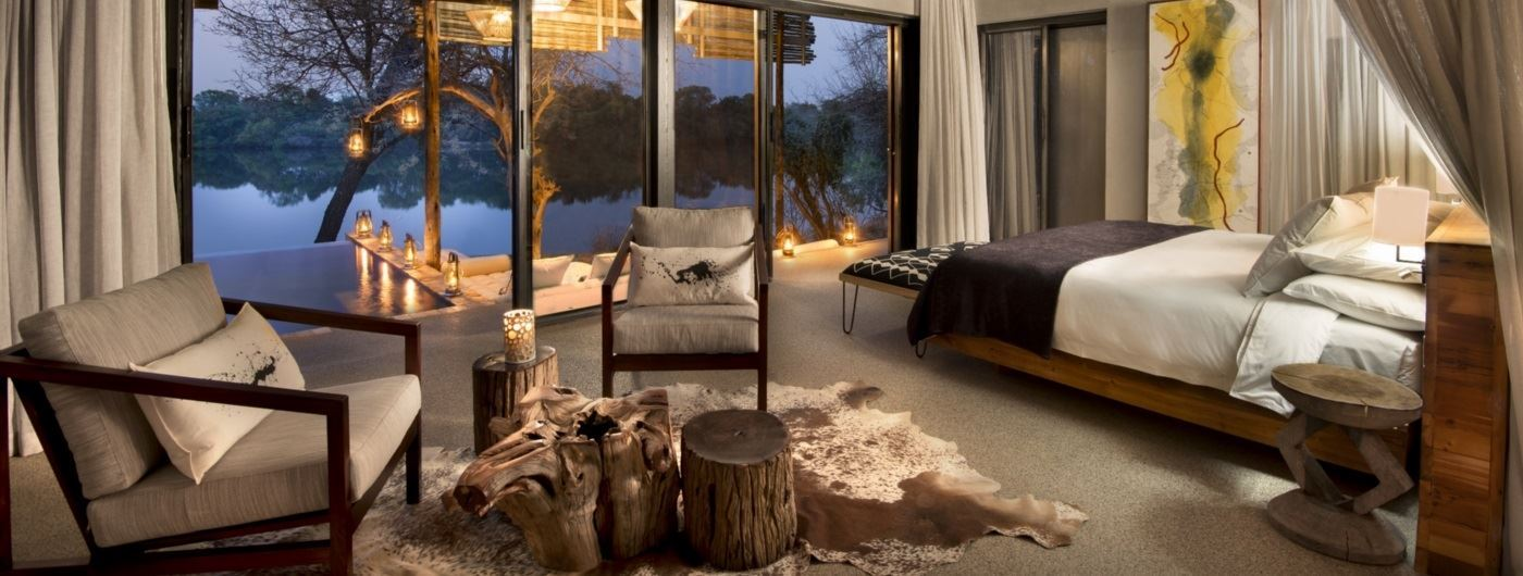 andBeyond Matetsi River Lodge - suite interior