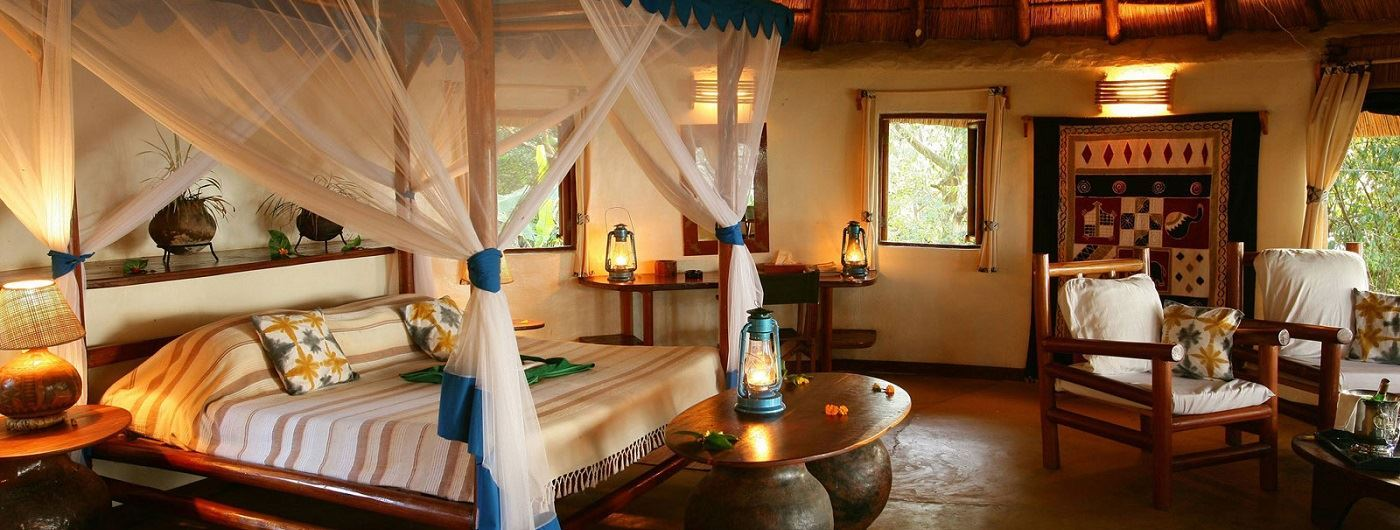 Mfangano Island Camp room interior