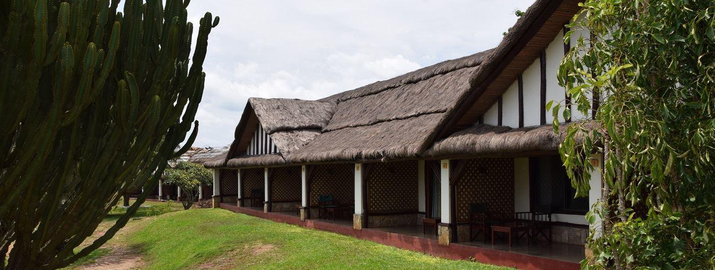 Mweya Safari Lodge exterior