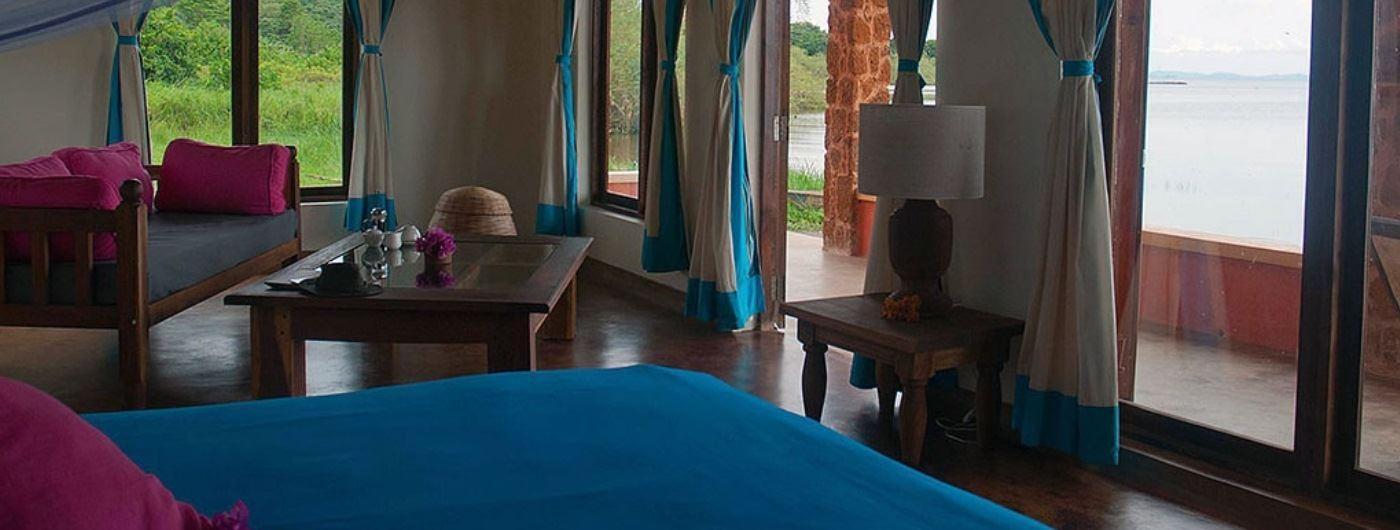 Pineapple Bay Resort bedroom interior