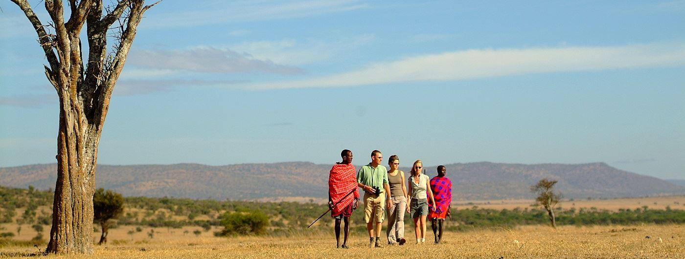 Porini Mara Camp Ol Kinyei Walk