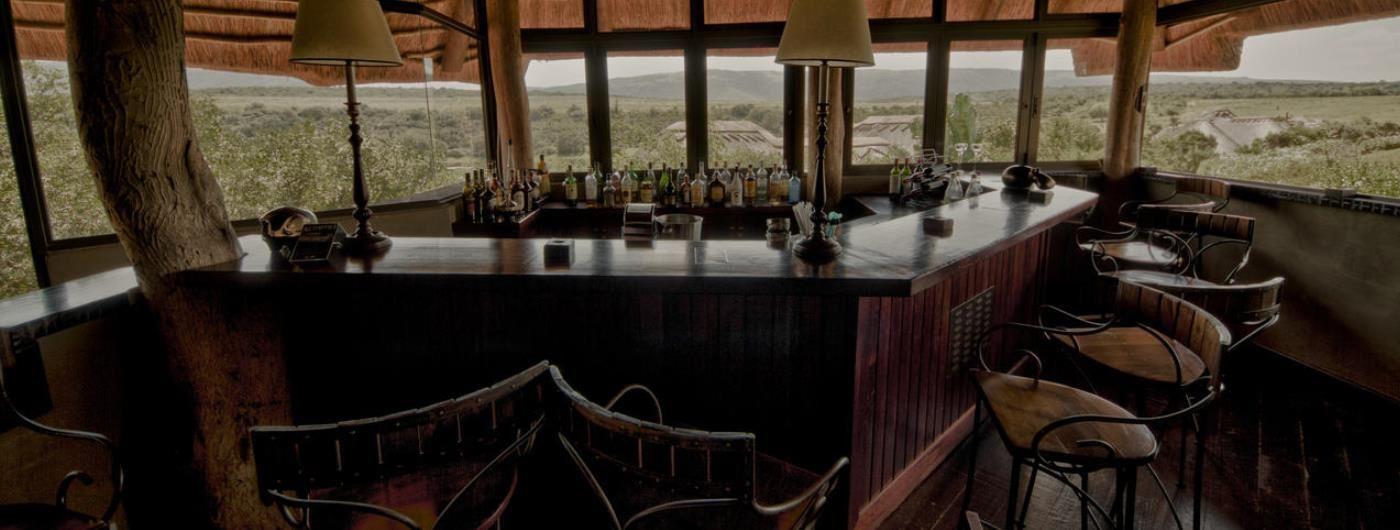Pumba Water Lodge main bar