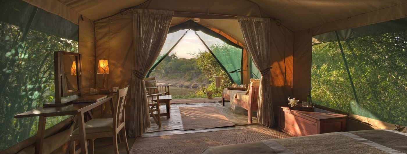 Rekero Camp Luxury Guest Tent