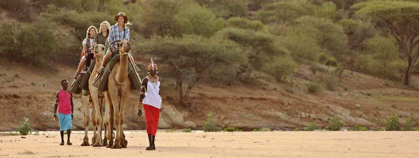 Sasaab Lodge camel safari