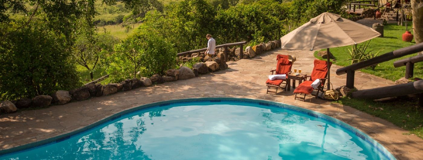 Serengeti Migration Camp pool