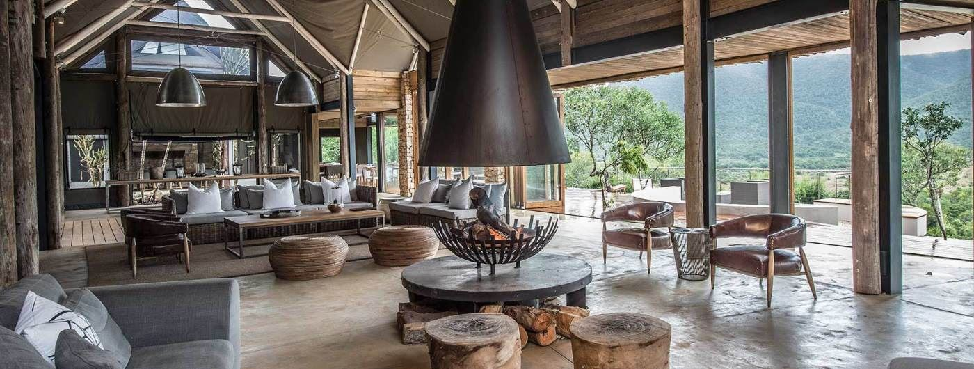 Settlers Drift Luxury Tented Lodge main lounge