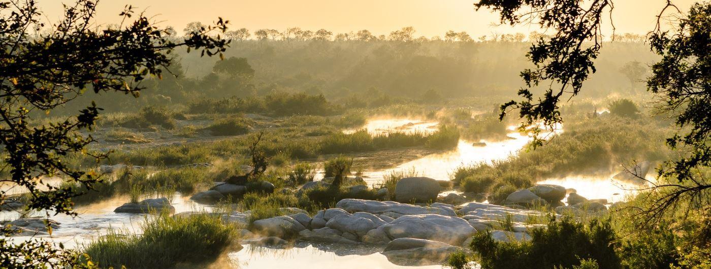 Singita Boulder's Lodge private reserve in Greater Kruger