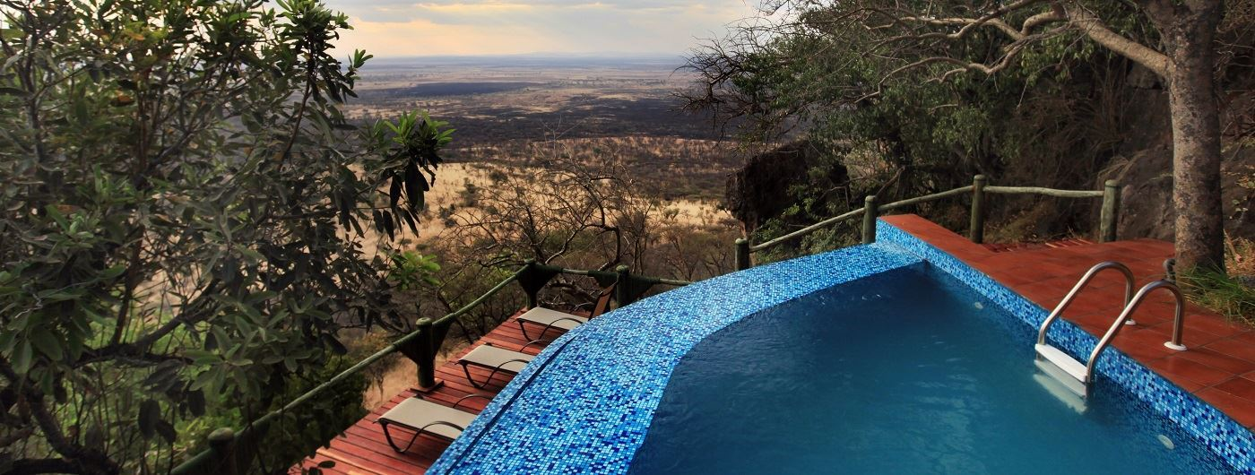 Soroi Serengeti Lodge swimming pool