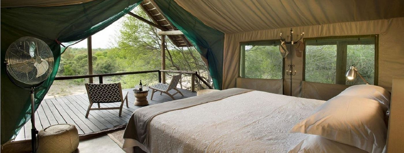 Tanda Tula Safari Camp tent interior