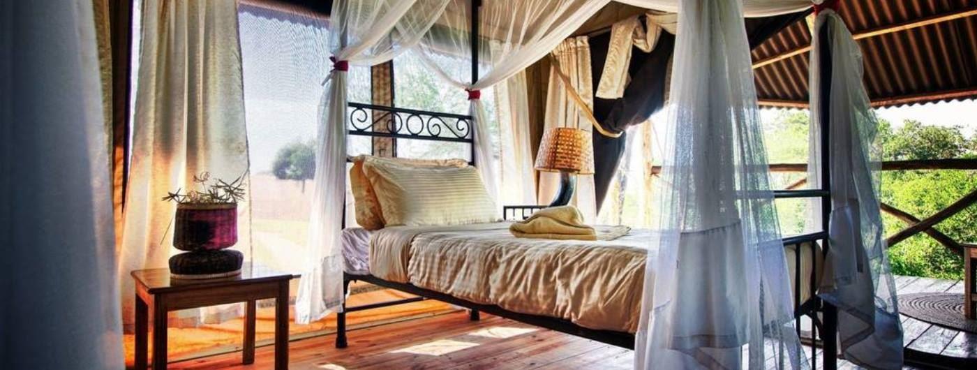 Tarangire River Camp room interior