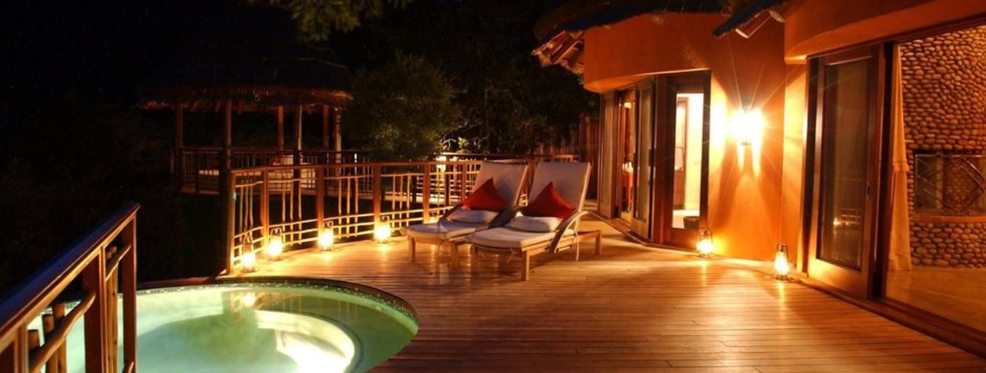 Thanda Tented Camp private plunge pool