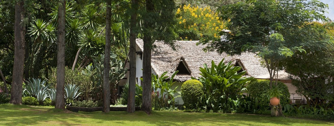 The Plantation Lodge & Safaris main lodge exterior