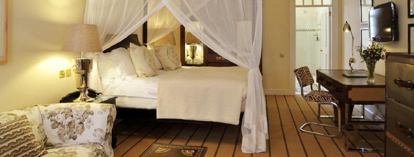 Victoria Falls Hotel room interior