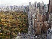 View of skyline and Central Park, New York - New York State Holidays