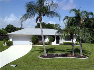Example of a Port Charlotte Area Home - Villa Exterior