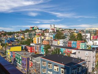 St John's -the capital of Newfoundland