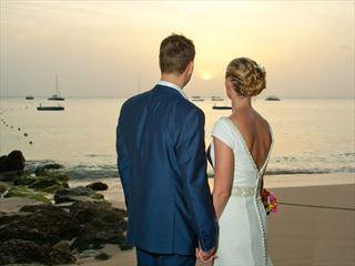 Beautiful sunset views at Colony Club, Barbados