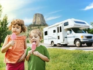 Family holidays in Wyoming